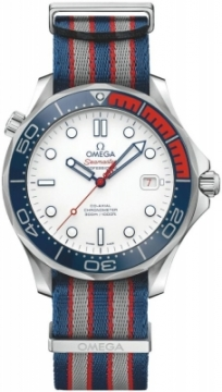 Buy this new Omega Seamaster Diver 300m Co-Axial Automatic 41mm 212.32.41.20.04.001 mens watch for the discount price of £4,000.00. UK Retailer.