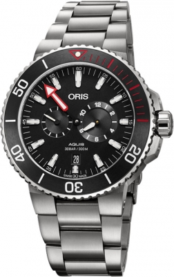 Oris Aquis Regulateur Der Meistertaucher 01 749 7734 7154-Set watch
