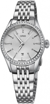 Oris Artelier Date 28mm 01 561 7722 4951-07 8 14 79 watch