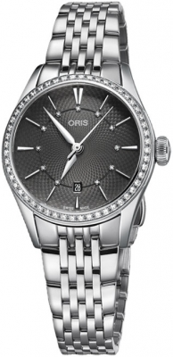 Oris Artelier Date 28mm 01 561 7722 4953-07 8 14 79 watch