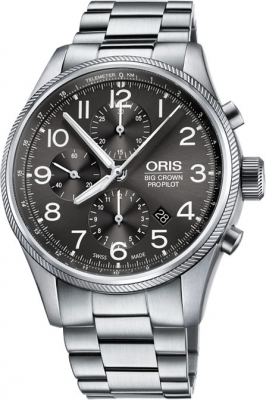 Oris Big Crown ProPilot Chronograph 44mm 01 774 7699 4063-07 8 22 19 watch