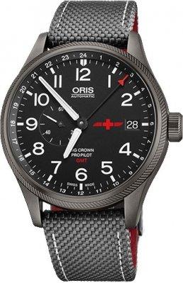 Oris Big Crown ProPilot GMT Small Seconds 45mm 01 748 7710 4284-Set watch