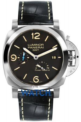 Panerai Luminor 1950 3 Days GMT Power Reserve Automatic 44mm pam01321 watch