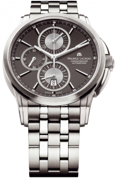 Maurice Lacroix Pontos Automatic Chronograph Mens watch, model number - pt6188-ss002-830, discount price of £2,280.00 from The Watch Source