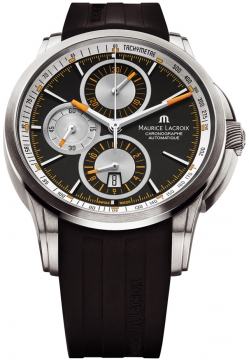 Maurice Lacroix Pontos Automatic Chronograph Mens watch, model number - pt6188-tt031-330, discount price of £2,280.00 from The Watch Source