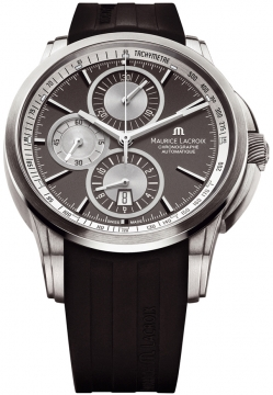 Maurice Lacroix Pontos Automatic Chronograph Mens watch, model number - pt6188-tt031-830, discount price of £2,280.00 from The Watch Source
