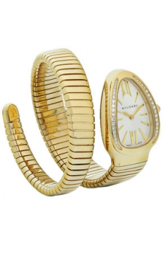 Bulgari Serpenti Tubogas 35mm Ladies watch, model number - sp35c6gdg.1t, discount price of £18,181.00 from The Watch Source
