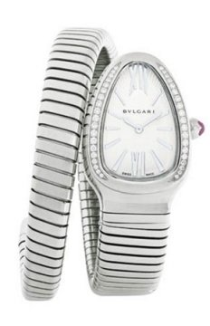 Bulgari Serpenti Tubogas 35mm Ladies watch, model number - sp35c6sds.1t, discount price of £5,343.00 from The Watch Source