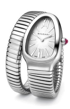 Bulgari Serpenti Tubogas 35mm Ladies watch, model number - sp35c6ss.1t, discount price of £3,174.00 from The Watch Source