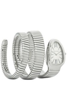 Bulgari Serpenti Tubogas 35mm Ladies watch, model number - sp35c6ss.2t, discount price of £4,645.00 from The Watch Source