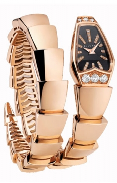 Bulgari Serpenti Jewelery Scaglie 26mm  Ladies watch, model number - spp26bgd1gd.1t, discount price of £17,365.00 from The Watch Source