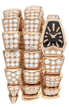Bulgari Serpenti Jewelery Scaglie 26mm  Ladies watch, model number - spp26bgd1gd2.2t, discount price of £75,893.00 from The Watch Source