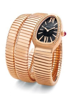Bulgari Serpenti Tubogas 35mm Ladies watch, model number - spp35bgdg.2t, discount price of £22,185.00 from The Watch Source