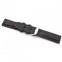 Strap 22mm Silicon strap SRSBK22MM watch