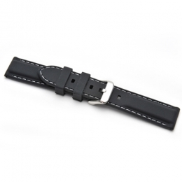 Strap 20mm Silicon strap SWSBK20MM watch