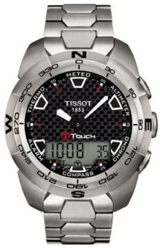 Tissot T-Tactile, T-Touch Mens watch, model number - T0134204420100, discount price of £560.00 from The Watch Source
