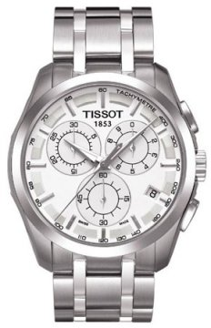 Tissot Couturier Mens watch, model number - T0356171103100, discount price of £285.00 from The Watch Source
