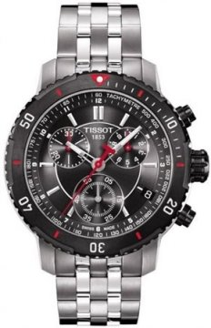 Tissot PRS200 Mens watch, model number - T0674172105100, discount price of £306.00 from The Watch Source