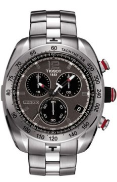 Tissot PRS330 Mens watch, model number - T0764171106700, discount price of £395.00 from The Watch Source