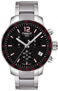 Tissot Quickster Mens watch, model number - T0954171105700, discount price of £235.00 from The Watch Source