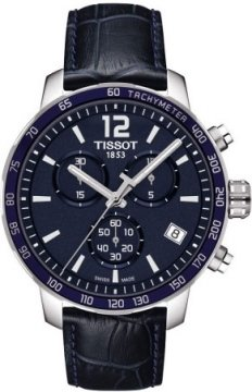 Tissot Quickster Mens watch, model number - T0954171604700, discount price of £220.00 from The Watch Source