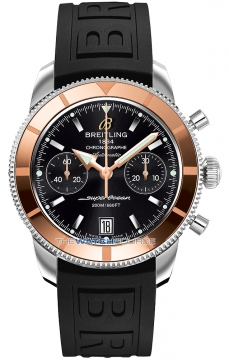 Breitling Superocean Heritage Chronograph Mens watch, model number - U2337012/bb81-1pro3d, discount price of £4,870.00 from The Watch Source