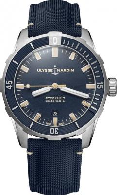 Ulysse Nardin Diver 42mm 8163-175/93 watch