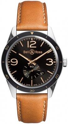 Bell & Ross BR 123 Vintage BRV123-GH-ST/SCA watch