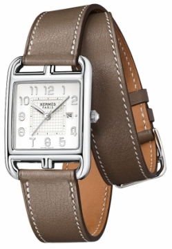 Hermes Cape Cod Quartz Medium GM Ladies watch, model number - 040194ww00, discount price of £1,741.00 from The Watch Source