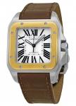 Cartier Santos 100 Large w20072x7 watch