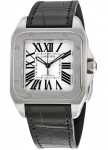 Cartier Santos 100 Medium w20106x8 watch