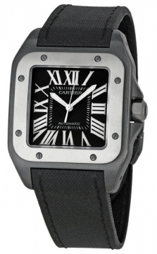 Buy this new Cartier Santos 100 Large w2020010 mens watch for the discount price of £5,575.00. UK Retailer.
