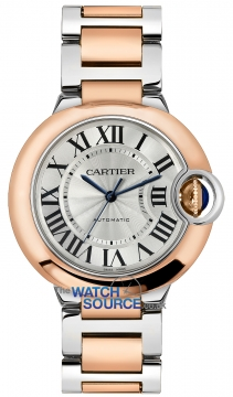 Buy this new Cartier Ballon Bleu 36mm w2bb0003 ladies watch for the discount price of £8,235.00. UK Retailer.