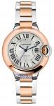 Cartier Ballon Bleu 33mm w2bb0023 watch