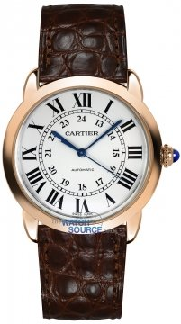 Buy this new Cartier Ronde Solo Automatic 36mm w2rn0008 ladies watch for the discount price of £5,265.00. UK Retailer.