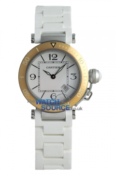 Cartier Pasha Seatimer Ladies watch, model number - W3140001, discount price of £3,400.00 from The Watch Source
