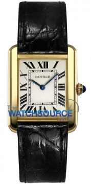 Cartier Tank Solo Quartz Midsize watch, model number - W5200004, discount price of £3,780.00 from The Watch Source