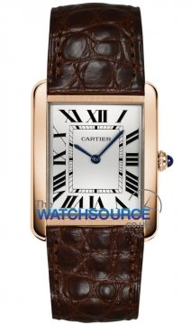 Cartier Tank Solo Quartz Midsize watch, model number - W5200025, discount price of £3,696.00 from The Watch Source