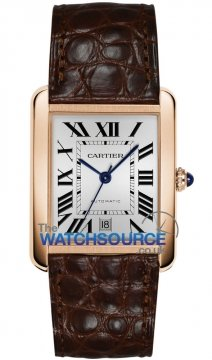 Cartier Tank Solo Automatic Extra Large Mens watch, model number - W5200026, discount price of £5,764.00 from The Watch Source