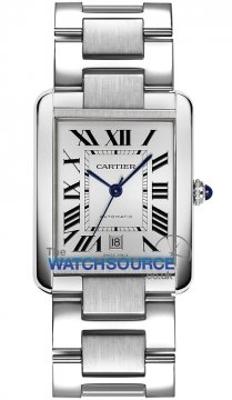 Cartier Tank Solo Automatic Extra Large Mens watch, model number - W5200028, discount price of £2,619.00 from The Watch Source