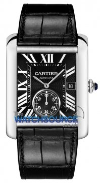 Cartier Tank MC Mens watch, model number - W5330004, discount price of £4,130.00 from The Watch Source