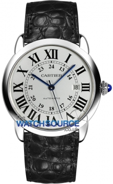 Cartier Ronde Solo Automatic 42mm Mens watch, model number - W6701010, discount price of £2,493.00 from The Watch Source