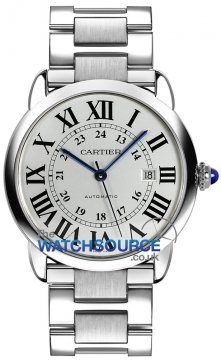 Cartier Ronde Solo Automatic 42mm Mens watch, model number - W6701011, discount price of £2,655.00 from The Watch Source