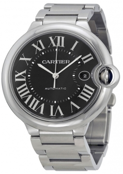 Cartier Ballon Bleu 42mm Mens watch, model number - w6920042, discount price of £4,630.00 from The Watch Source