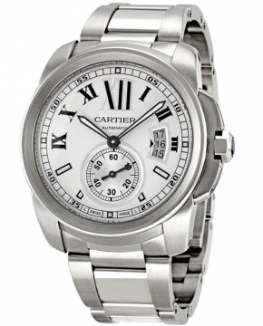 Cartier Calibre de Cartier 42mm Mens watch, model number - w7100015, discount price of £4,845.00 from The Watch Source