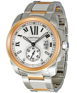 Cartier Calibre de Cartier 42mm Mens watch, model number - w7100036, discount price of £8,415.00 from The Watch Source