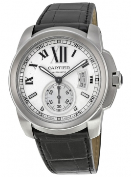 Cartier Calibre de Cartier 42mm Mens watch, model number - w7100037, discount price of £4,885.00 from The Watch Source