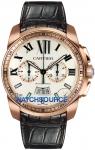 Cartier Calibre de Cartier Chronograph W7100044 watch