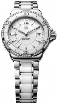 Tag Heuer Formula 1 Quartz 37mm Ladies watch, model number - wah1213.ba0861, discount price of £1,517.00 from The Watch Source