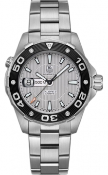 Tag Heuer Aquaracer Automatic 500M Calibre 5 Mens watch, model number - waj2111.ba0870, discount price of £1,880.00 from The Watch Source